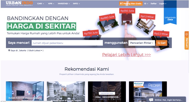 Urbanindo | Screenshot