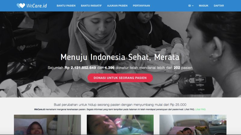 Wecare | Screenshot