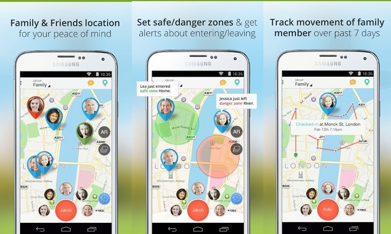 Family Locator | Screenshot