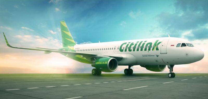 Pesawat Citilink | Ilustrasi
