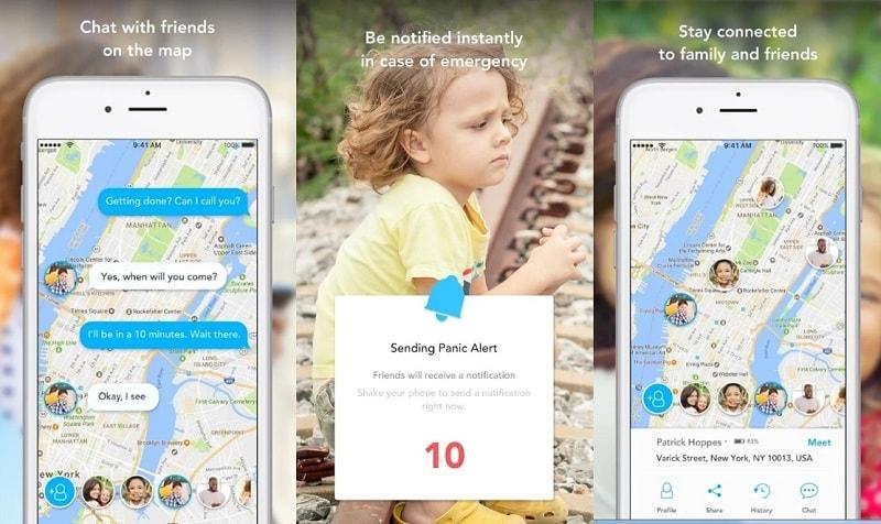 iSharing Locator | Screenshot