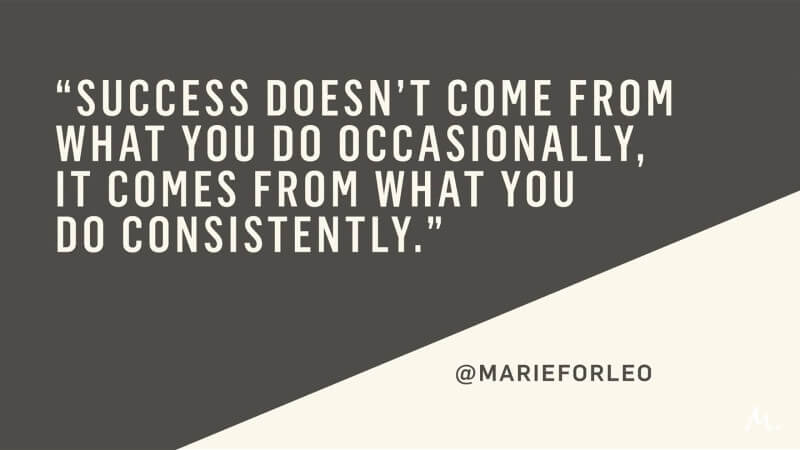 Consistency | Quote
