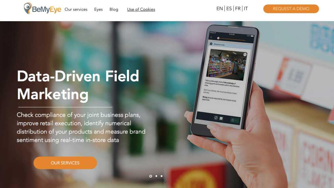 Ide Bisnis Startup BeMyEye | Screenshot
