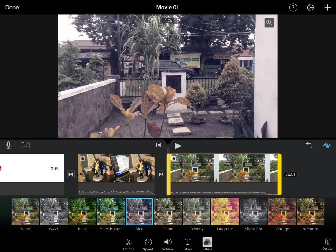 Video Edit App | iMovie