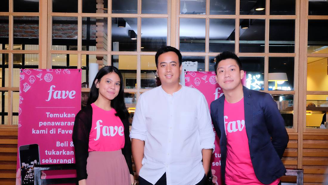 Kiri ke kanan: Marketing Communications Manager Fave Indonesia, Priska Patianom; Business Development Manager/Head of Expansion PEPeNERO Bakery, Praditya Wirjawa; General Manager Fave Group, Yew Wai Kong.