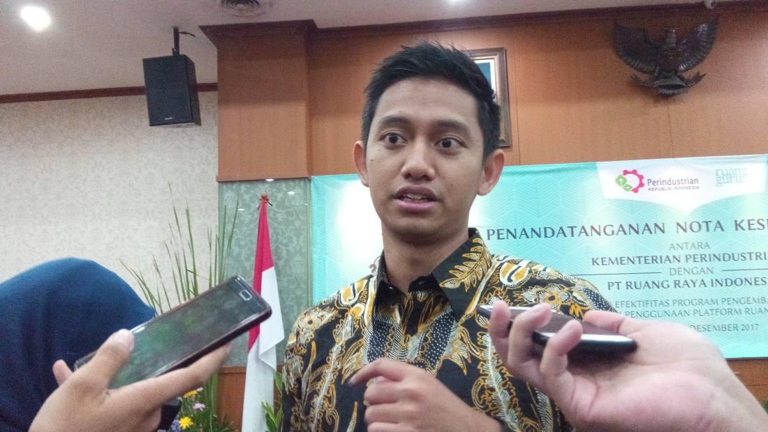 CEO & co-founder Ruangguru, Adamas Belva Syah Devara