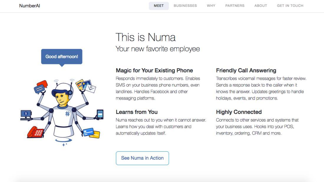 NumberAI | Screenshot