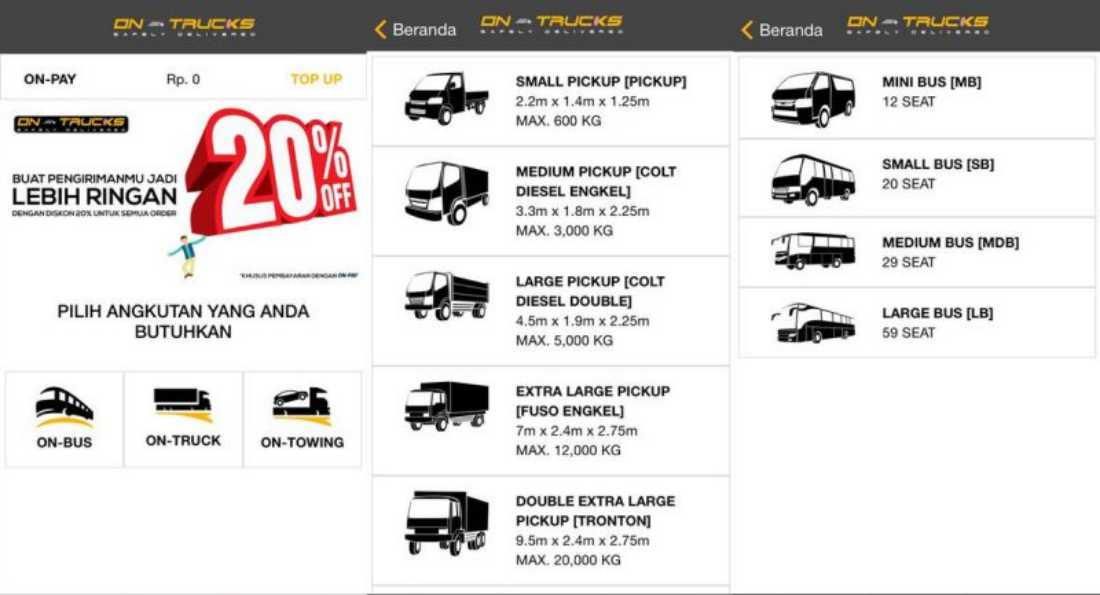 On Trucks | Screenshot