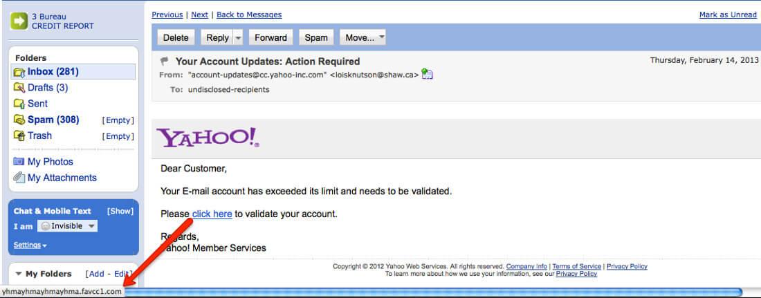 Phishing | Yahoo