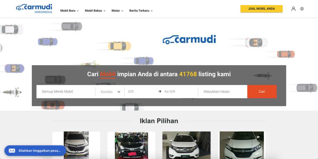 Carmudi | Screenshot