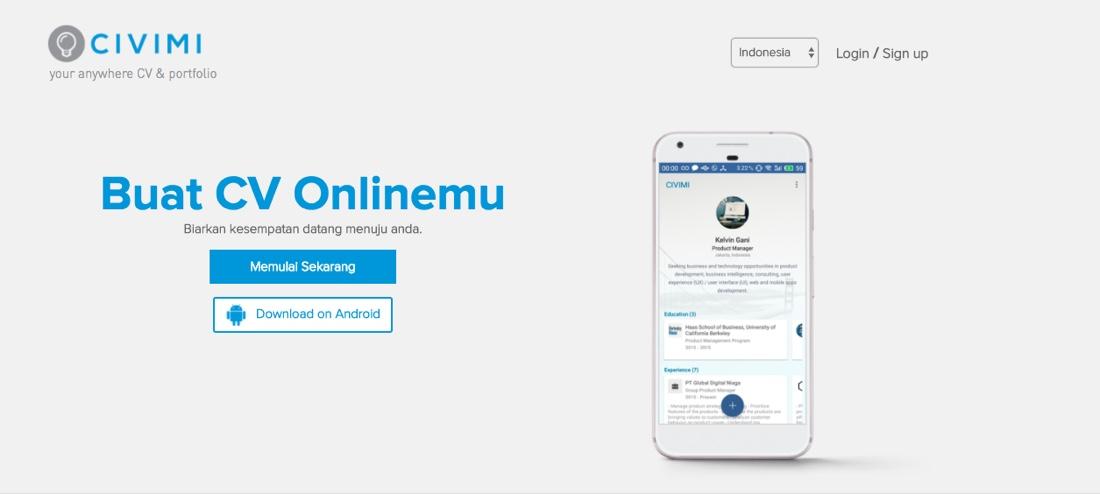 Civimi | CV Online Gratis