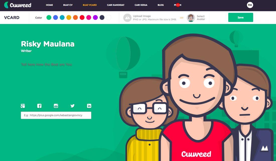 Cuuvveed | CV Online Gratis