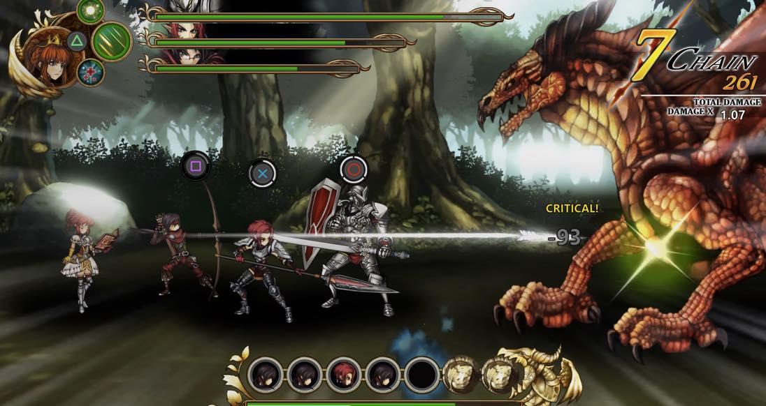 Fallen Legion   Screenshot