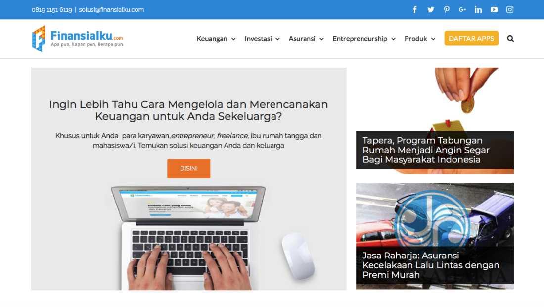 Finansialku Situs | Screenshot