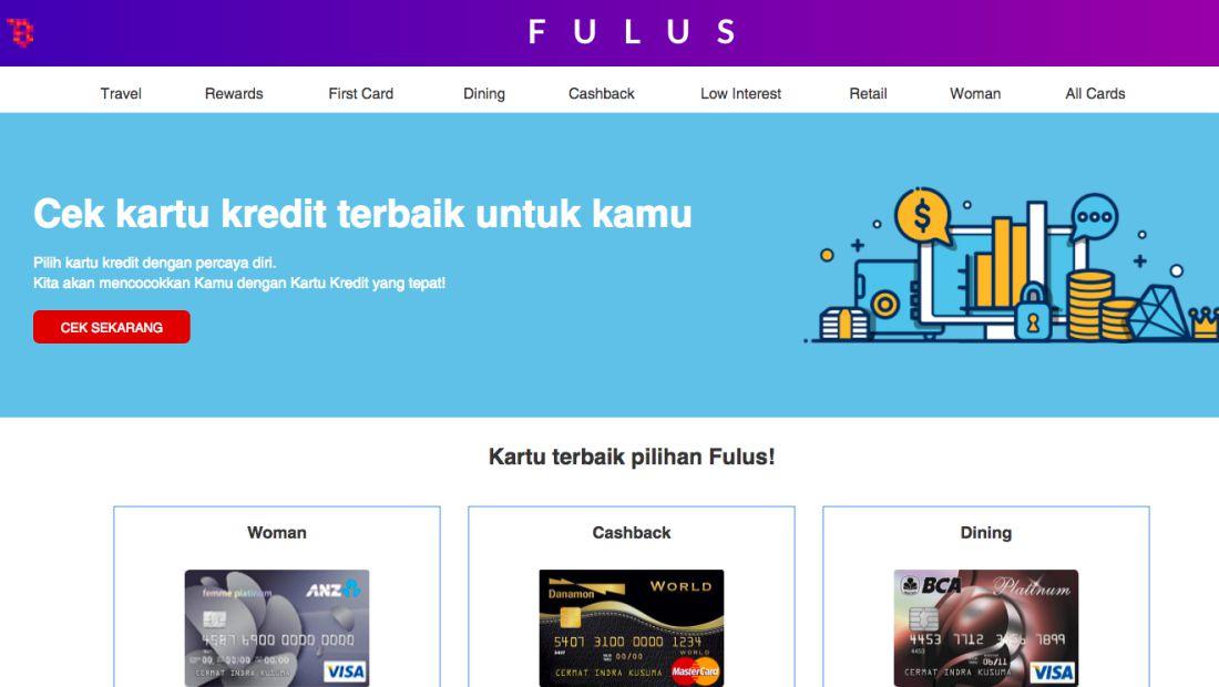 Tampilan platform FULUS | Screenshot
