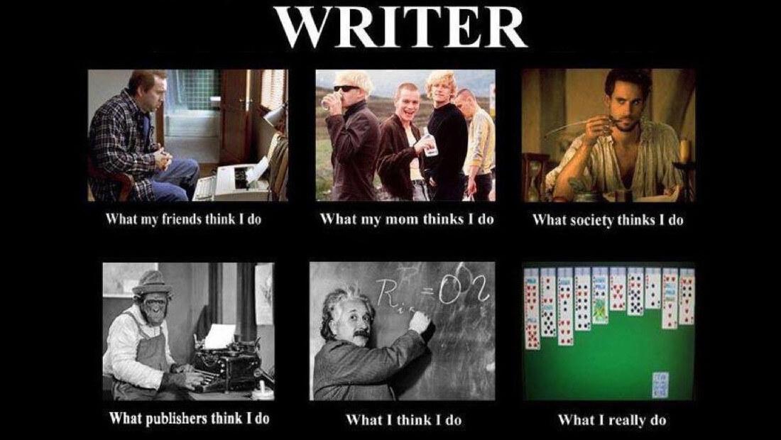 Work at Home | Writer Meme