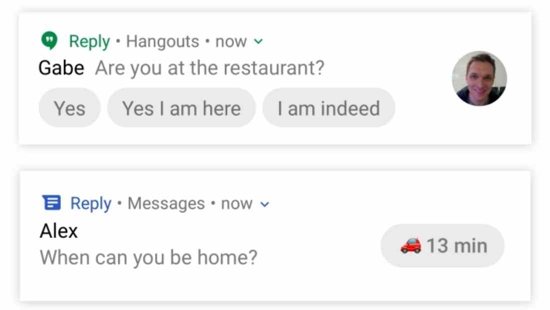 Fitur Smart Reply Google