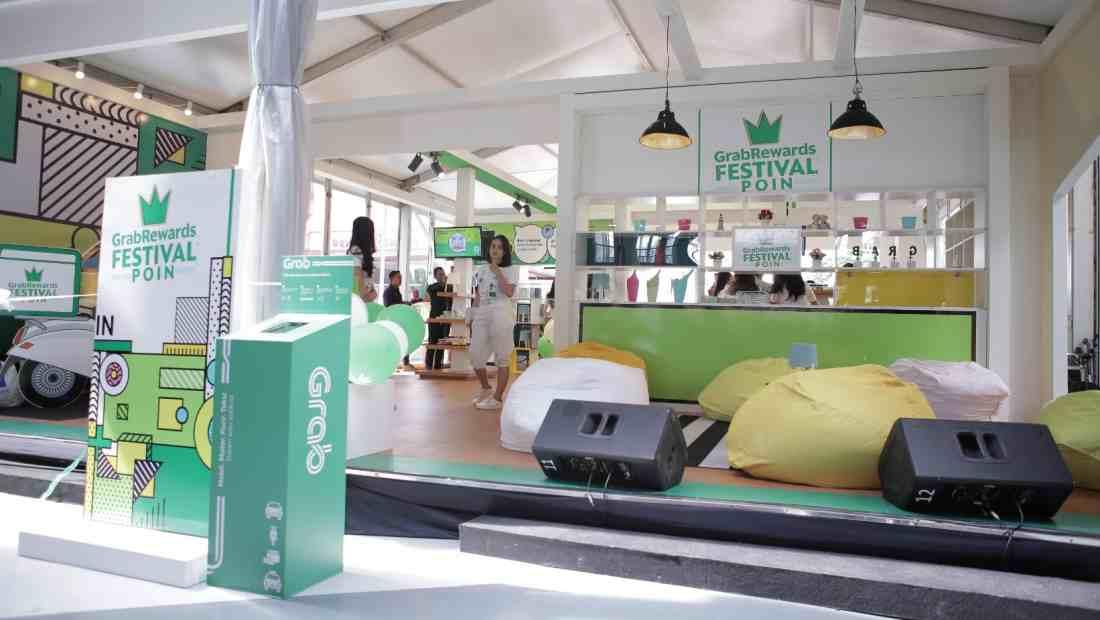 Booth GrabRewards Festival Poin di Cilandak Town Square | Photo