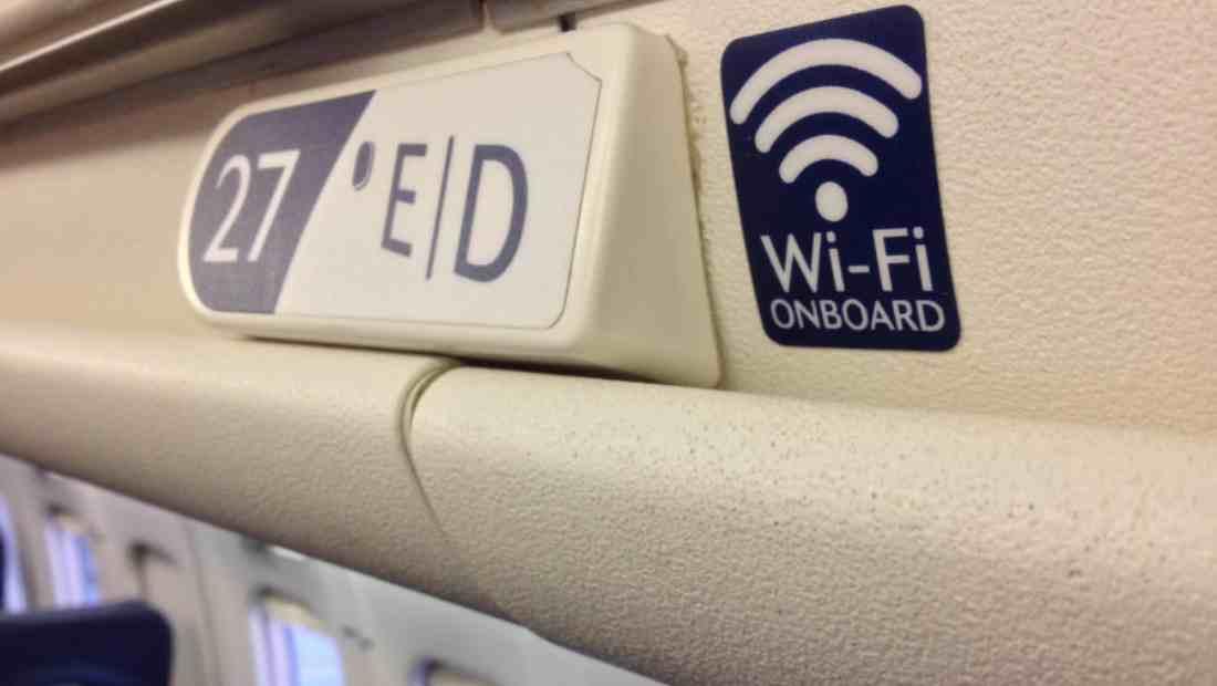 Wi-Fi on board   Ilustrasi