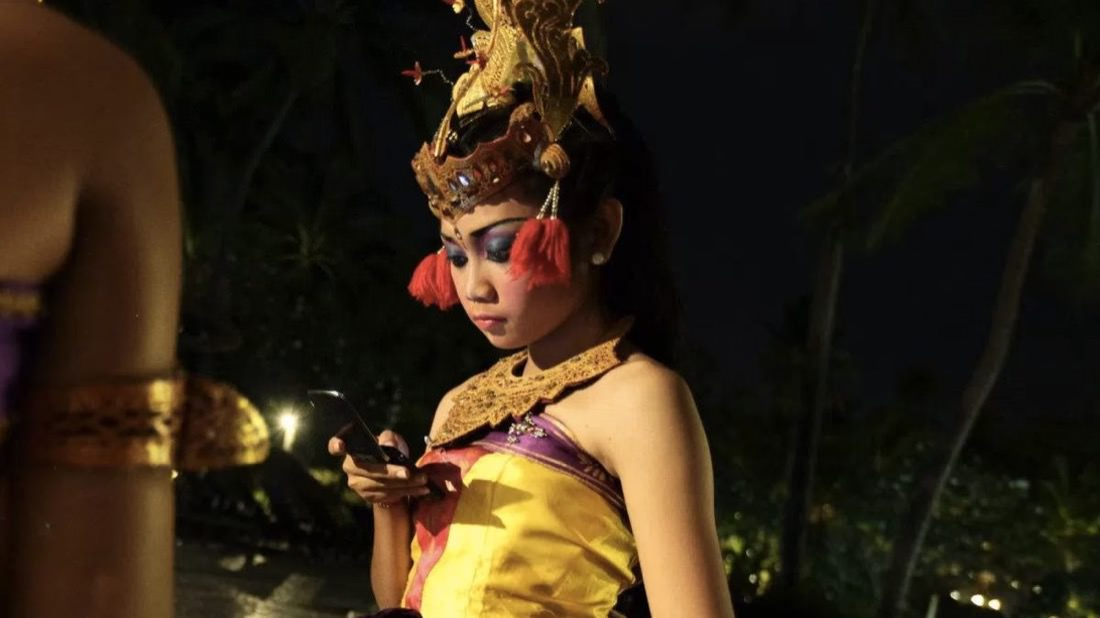 Bali Dancer Indonesia Smartphone | Photo