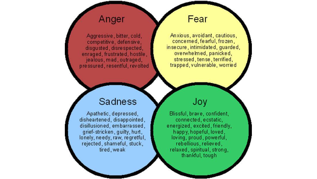 Emotional Marketing | Basic Emotions Diagram