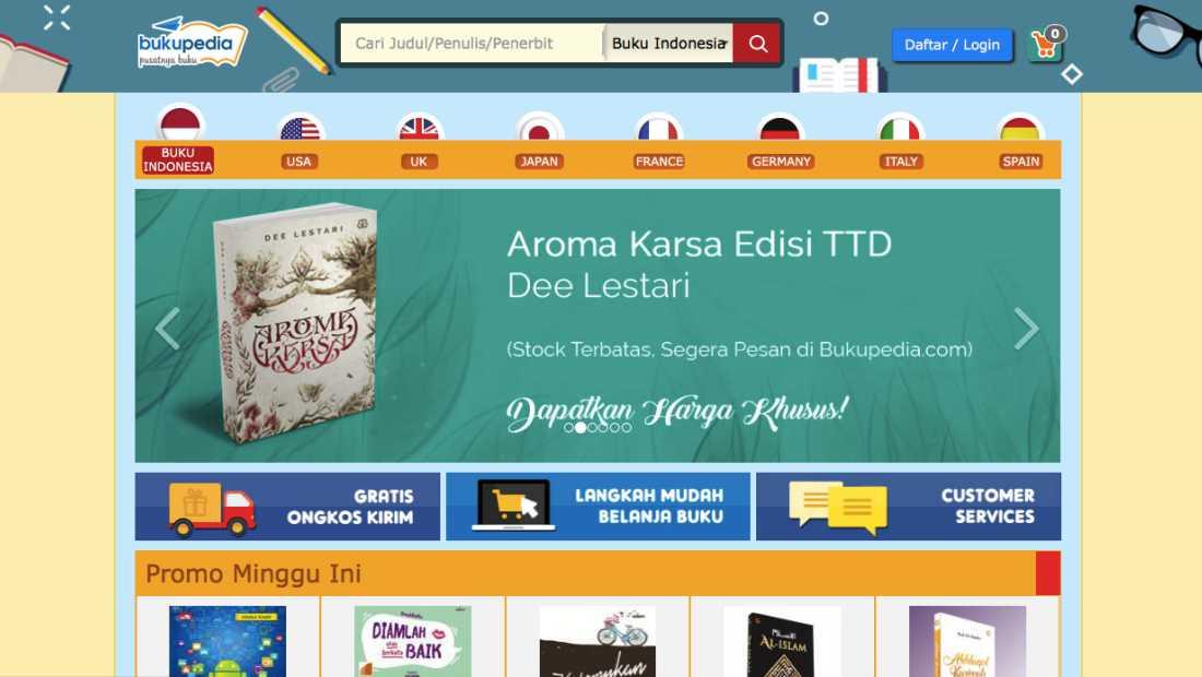 Bukupedia | Screenshot