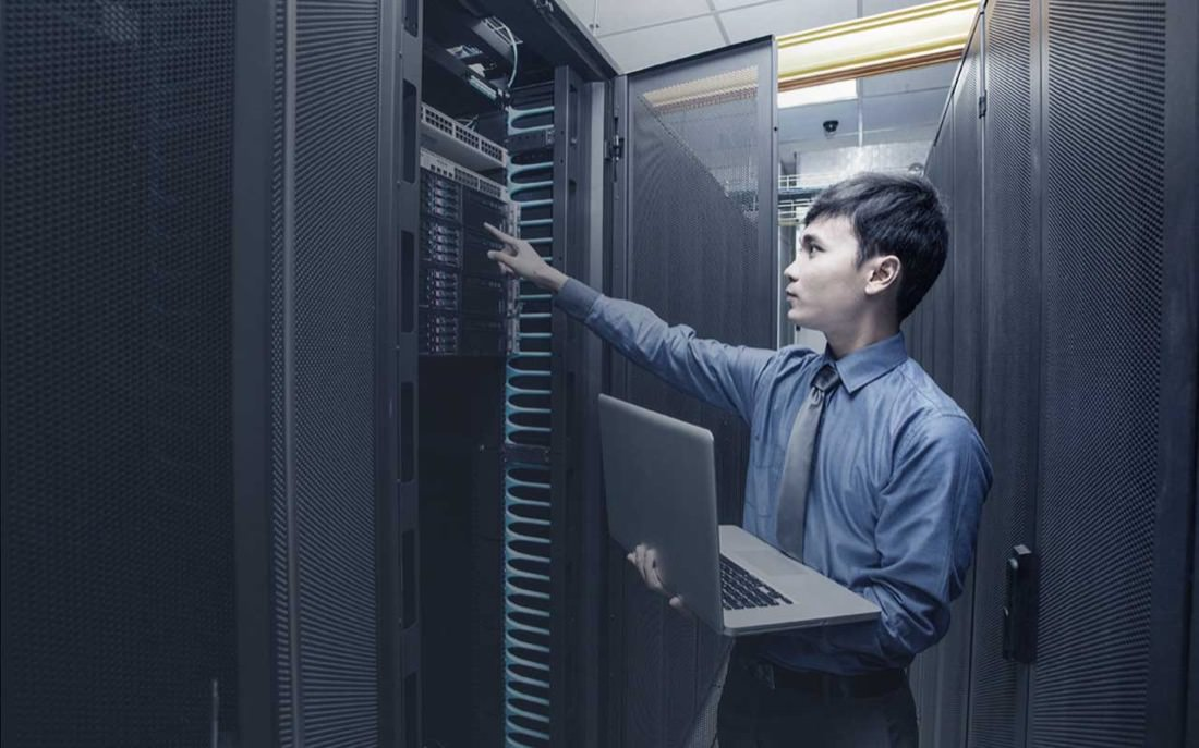 Data Center Worker | Photo