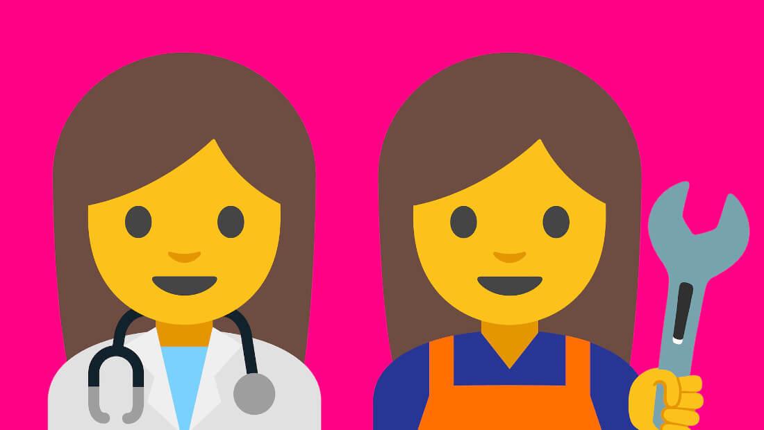 Google Female Emoji | Picture 1