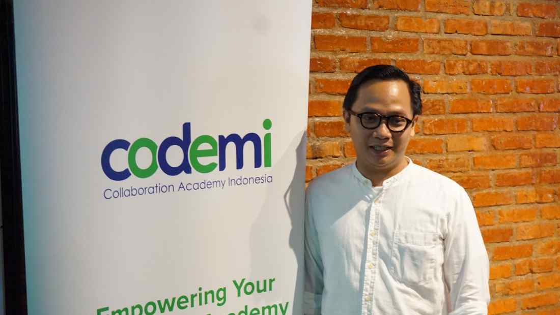 Zaki Falimbany, CEO & Founder Codemi | Photo