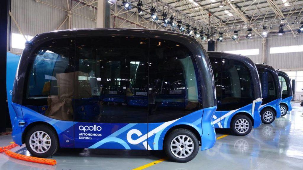 Baidu Rencanakan Peluncuran Bus Otonom di Jepang