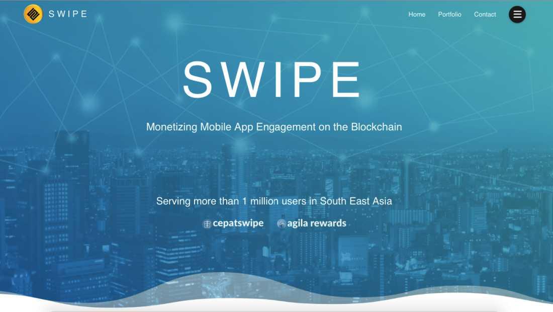 SwipeCrypto | Screenshot