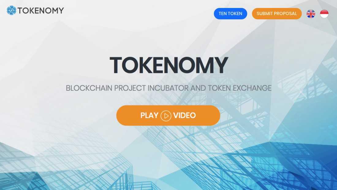 Tokenomy | Screenshot