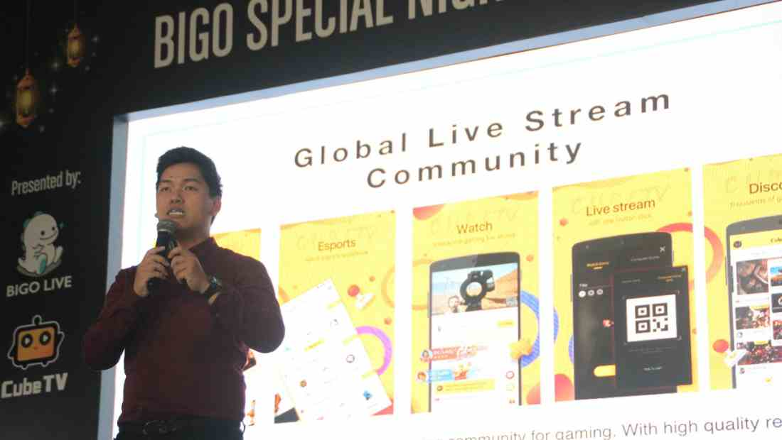 Head Marketing and Communication BIGO Live & Cube TV, Aswin Atonie | Photo