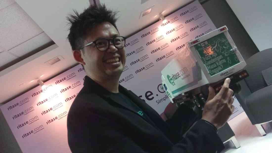 CEO & Founder Ritase, Iman Kusnadi | Photo