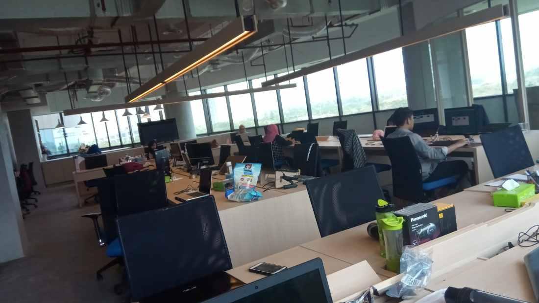 Suasana kantor SIRCLO | Photo