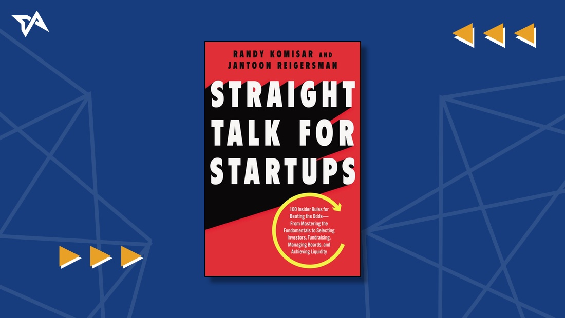 Straight Talk for Startups | Cover