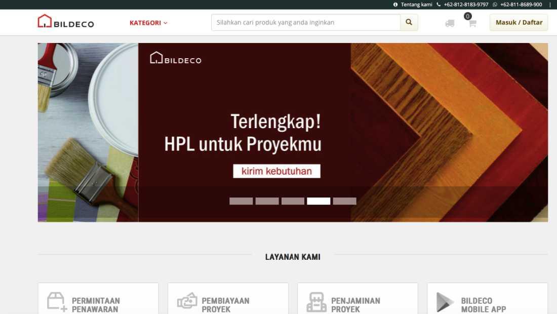 Bildeco | Screenshot 2