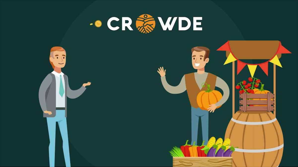 Crowde Offers Farmers' Capital Loans with Harvest Deposit Provisions