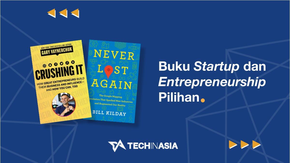 Buku Startup, Entrepreneurship & Bisnis Pilihan Tech in Asia