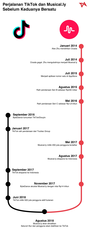 Infografik TikTok Musically 2