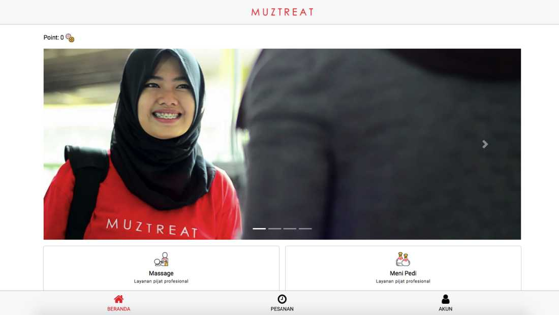 Muztreat | Screenshot