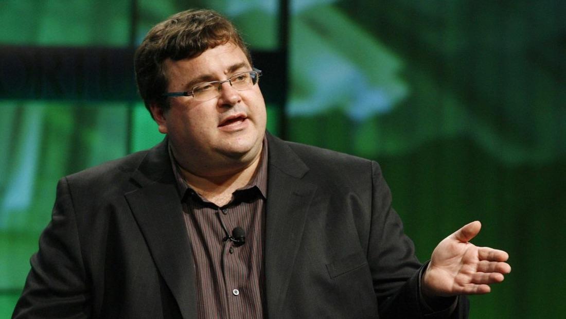 Reid Hoffman, pendiri LinkedIn dan salah satu alumni program Symbolic Systems di Stanford.