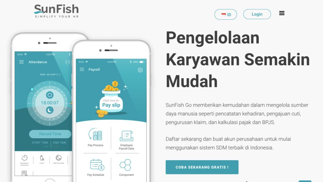 4 Startup SaaS di Startup Factory TIAJKT2018|Sunfishgo
