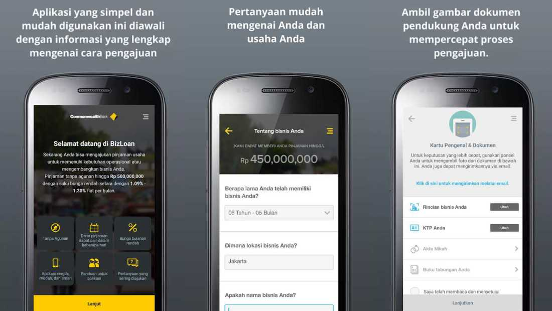 Bizloan | Aplikasi Screenshot