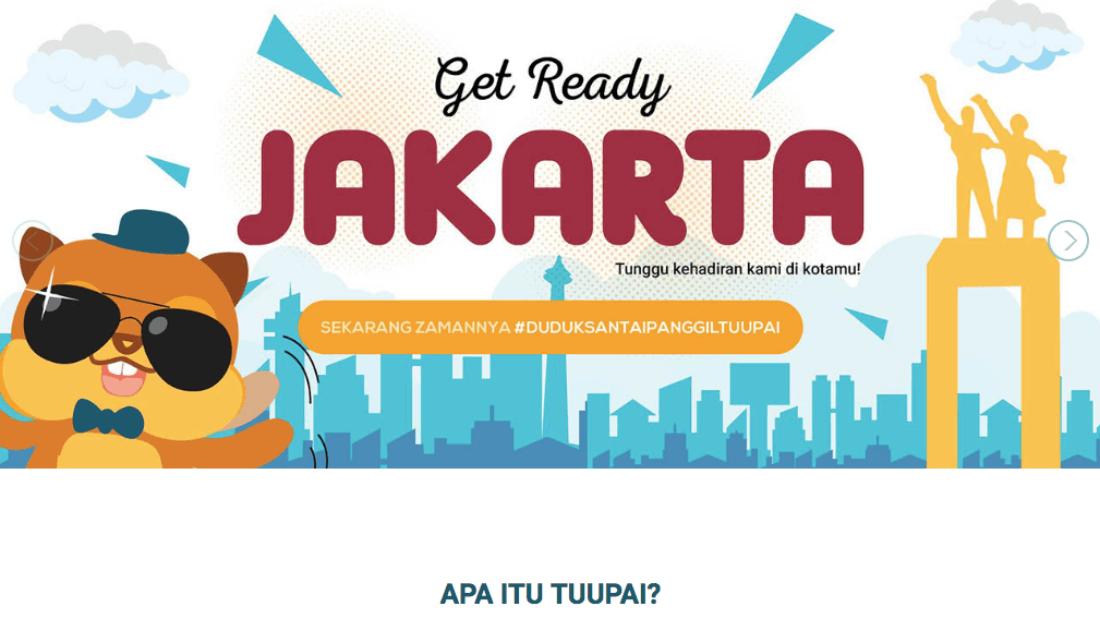 5 Startup E-commerce di TIAJKT2018|Tuupai