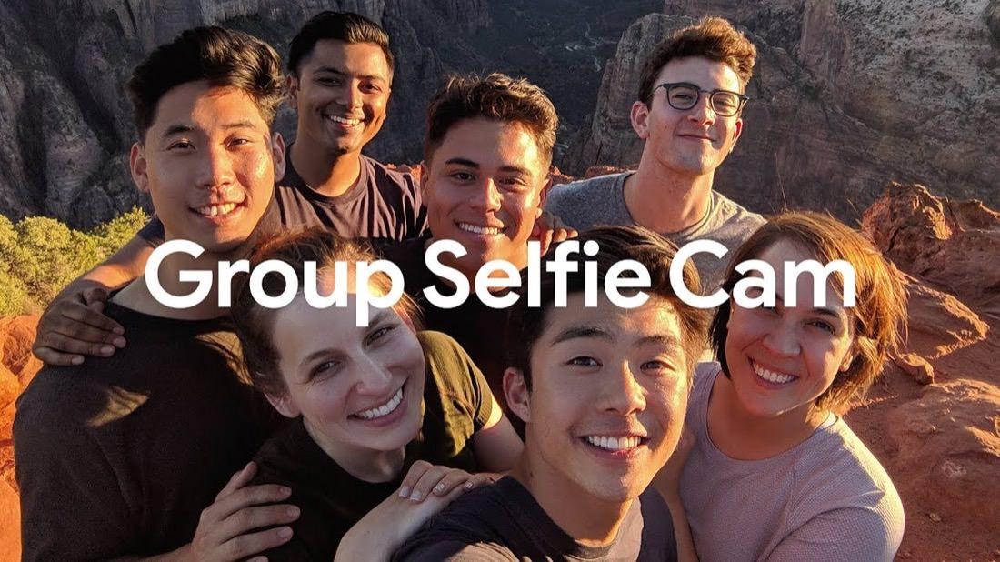 Group Selfie Pixel 3 | Illustration