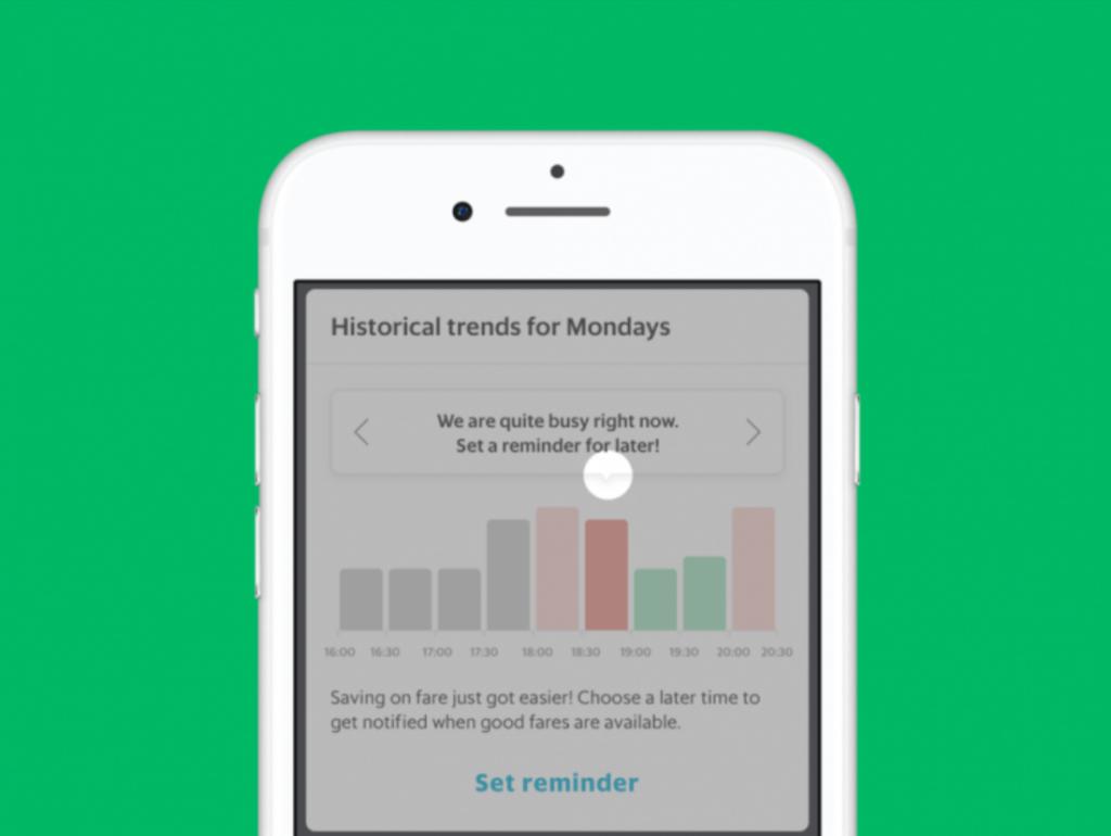 How Grab Build Widget to Help User Avoid Rush Hour 5