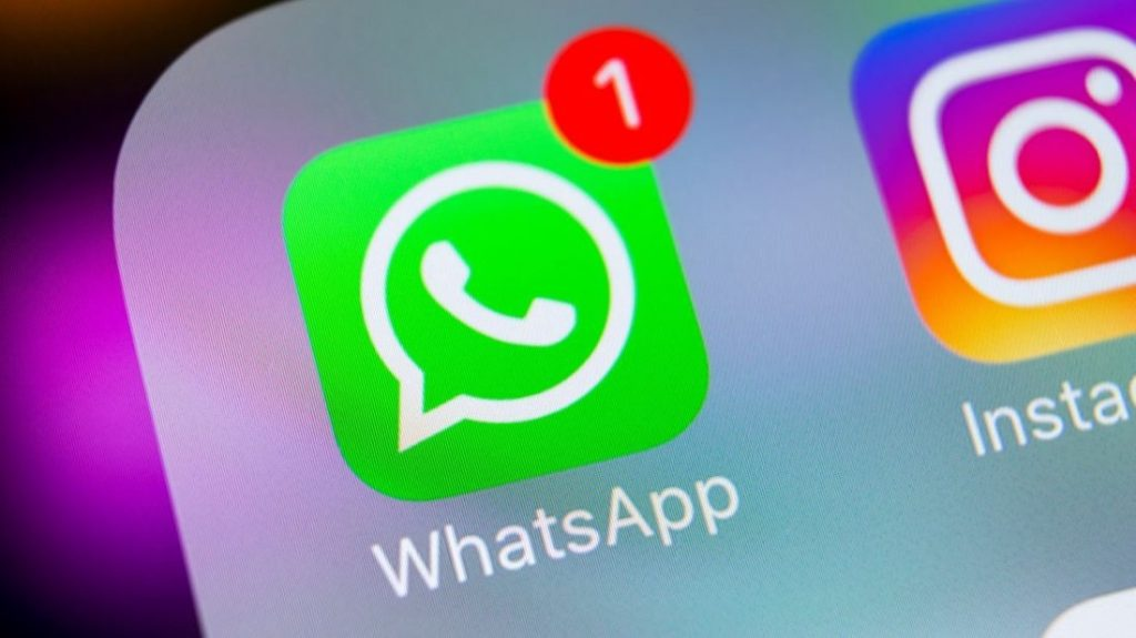 WhatsApp Logo on iOS | Photo