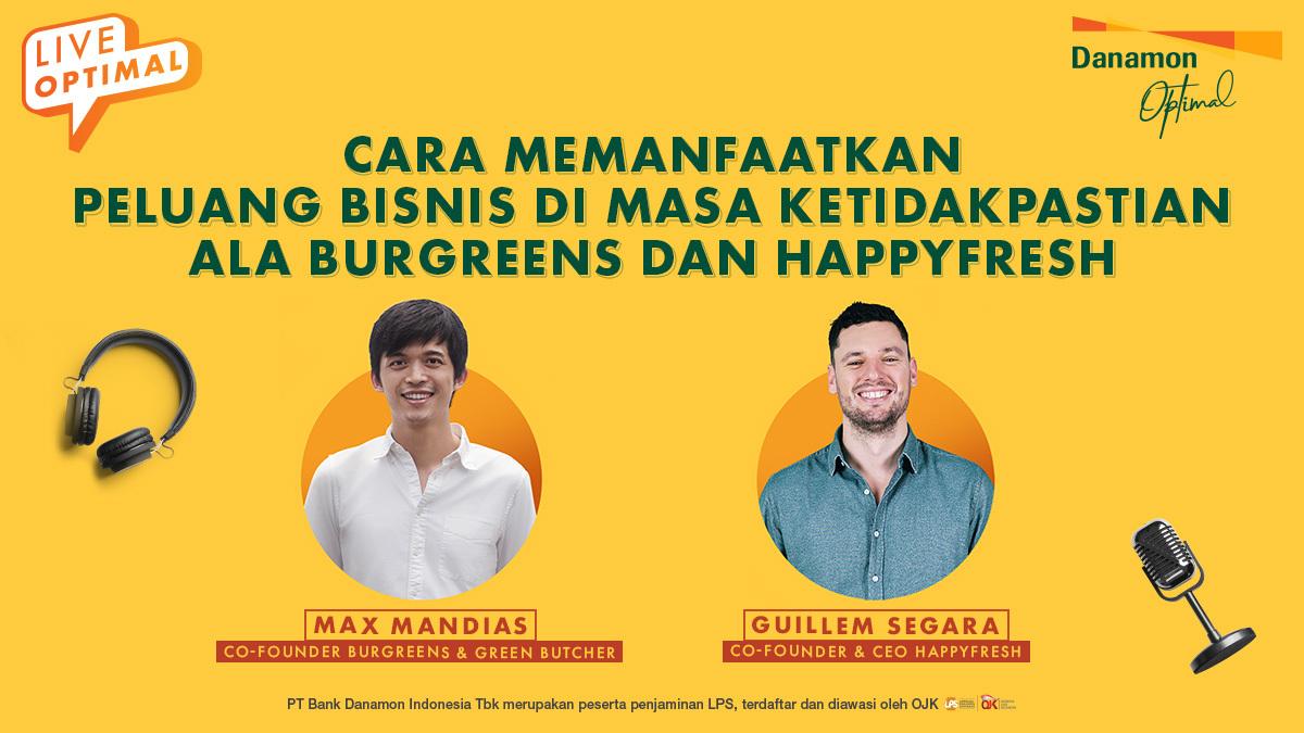 Cara Burgreens dan HappyFresh Memanfaatkan Peluang Bisnis