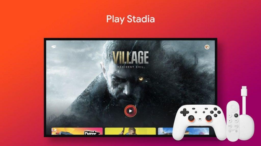 Stadia on Google TV   Featured